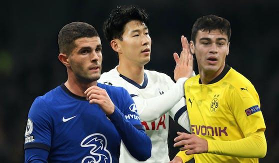 Pulisic (Chelsea), Son (Tottenham) und Reyna (Dortmund) kommen nach Österreich.