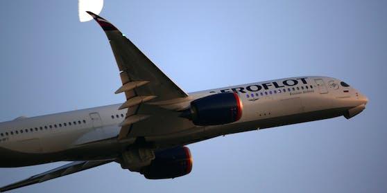 Die Passagiere reisten mit einer Aeroflot-Maschine von Moskau nach Wien. Symbolbild.