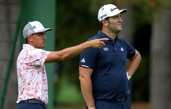 Golf-Star Jon Rahm mit dem Schlag des Jahres.