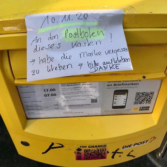 Diese Post für einen Briefträger sorgt für Schmunzler.