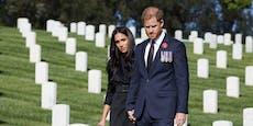 Meghan und Harry für Friedhofsbesuch kritisiert