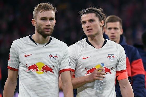 Konrad Laimer und Marcel Sabitzer könnten RB Leipzig verlassen.