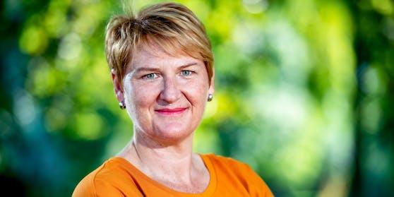 Die nö. Grünen-Chefin Helga Krismer