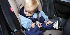 Kopf fällt im Kindersitz nach vorne - Was tun?