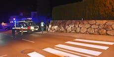 Bub (5) wird auf Zebrastreifen von Auto weggeschleudert