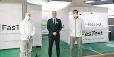 Ab sofort Corona-Teststationen inSCS und Donau Zentrum