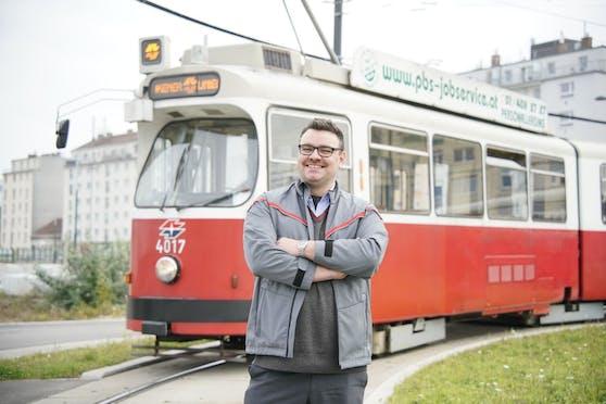 Der Bim-Fahrer Michal D. begeisterte mit seinem Clip auf TikTok.