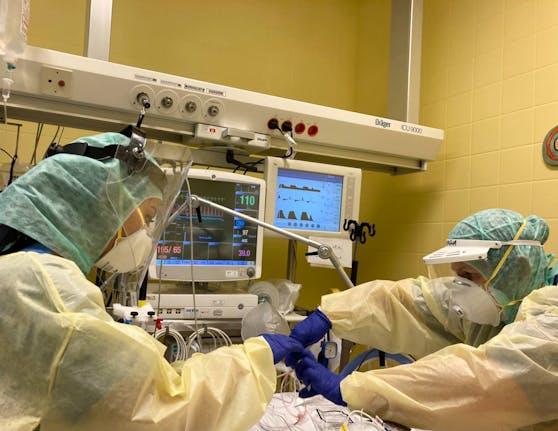 Jeder zehnte Patient auf einer Intensiv-Station in OÖ kommt aus NÖ.