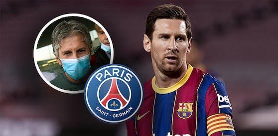 Messi-Vater Jorge dementiert die PSG-Gerüchte.