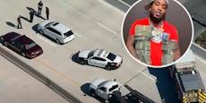 US-Rapper (28) mitten auf der Autobahn erschossen