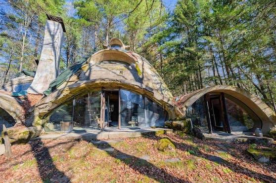 Für 220.000 US Dollar wird nun das Einzimmer-Häuschen in Marshfield (Vermont) von Architekt Bob Chappelle verkauft.