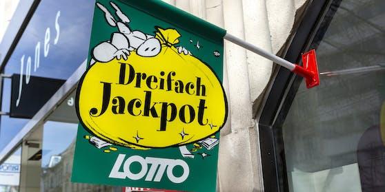 Bei der nächsten Ziehung winkt ein Dreifach-Jackpot.
