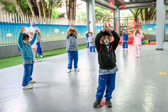 Der Turnunterricht soll laut Eltern wieder normal abgehalten werden.