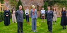 Mode-Prinz: Charles stellt seine Kollektion vor