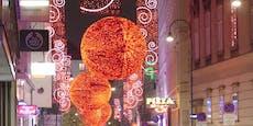 Wiener Weihnachtsbeleuchtung offiziell eingeschaltet