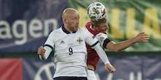 2:1! Joker retten Österreich vor Blamage gegen Nordiren