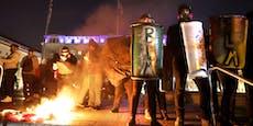 Trump-Fans demonstrieren: Ausschreitungen in Washington