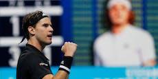 Thiem gelingt bei ATP-Finals Revanche gegen Tsitsipas