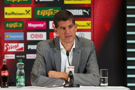 ÖFB-Geschäftsführer Bernhard Neuhold