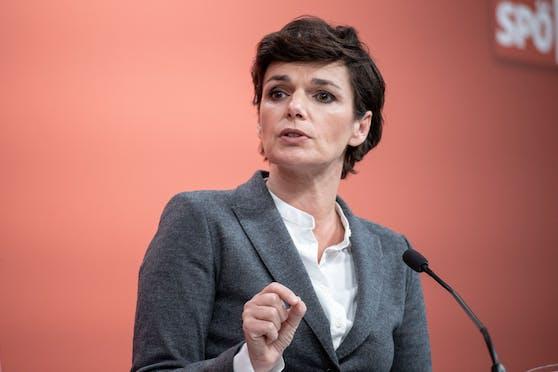 Parteichefin Pamela Rendi-Wagner. Archivbild