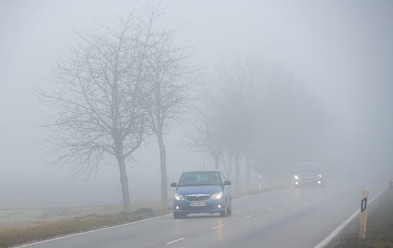 Das Herbstwetter bringt unter anderem Nebel.