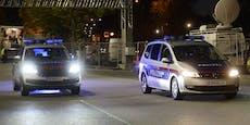 Randalierer bespuckt Polizeiauto und verletzt Beamtin