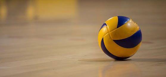 Symbolfoto eines Volleyballs.
