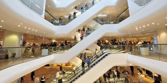 Viele Shoppingcenter bleiben auch während des Lockdowns geöffnet
