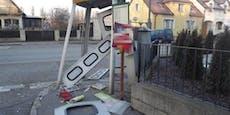 WC und Telefonzelle im Bezirk Mistelbach gesprengt