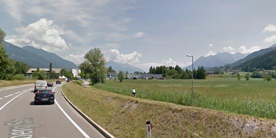 An diesem Geh- und Radweg neben der Vorarlberger Straße wurde der Mann niedergestochen