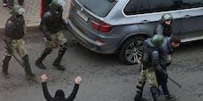 Mehr als 1.100 Festnahmen bei Protesten in Weißrussland