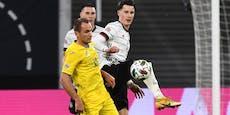 Deutschland spielte vor Showdown gegen Corona-Kranke