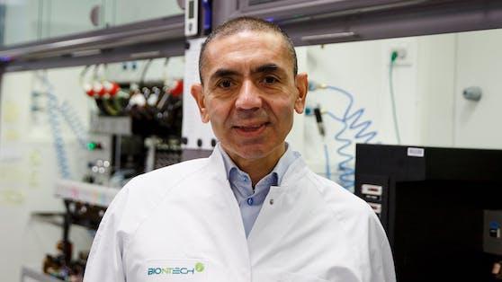 Uğur Şahin war an der Entwicklung des Corona-Impfstoffs für BioNTech beteiligt und glaubt an ein normales Leben bis nächsten Winter.