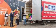 MyPlace und Wiener Tafel sammeln Weihnachts-Spenden