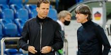 Bierhoff lässt Zukunft von Deutschland-Coach Löw offen
