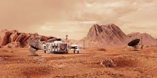Nasa will 2026 das erste Gebäude auf dem Mars bauen