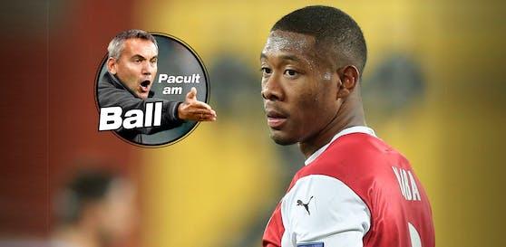 """Pacult über Alaba: """"Im Team sucht er seine Rolle."""""""