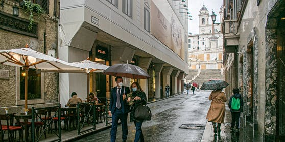 Roms Altstadt ist fast menschenleer.