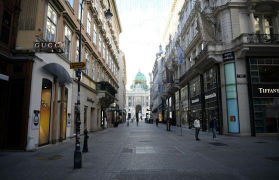 So sah es in Wien am ersten Lockdown-Tag aus.