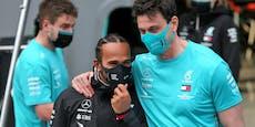 Hamilton verriet Wolff, dass er bei Mercedes bleibt