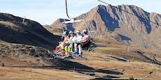 Kein Schnee: Ski fahren war auch schon mal cooler