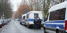 1.638 Polizisten fassen die Juwelen-Diebe von Dresden