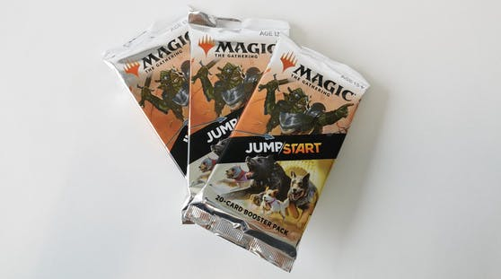 """Bei """"Jumpstart"""" dürfen Boosterpacks geöffnet werden."""