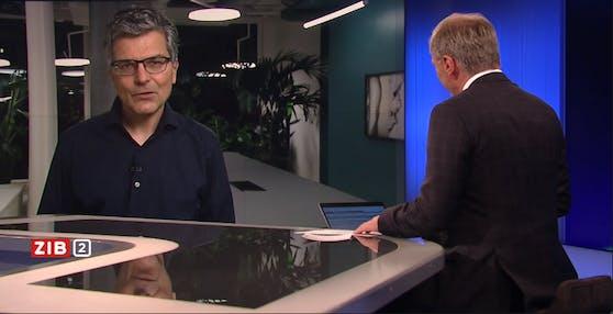 Thomas Häusler, der Leiter der Wissenschaftsredaktion des Schweizer Rundfunks (SRF)