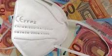 1,7 Mio. Menschen kriegen gratis FFP2-Masken per Post