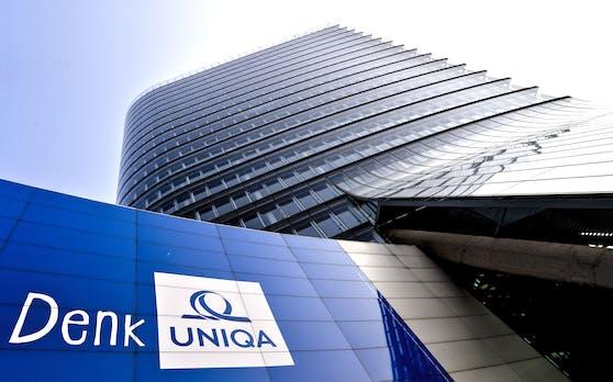 Der UNIQA-Tower in Wien. Archivbild, 2016
