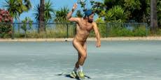 Nackt-Sportler posieren gegen Rassismus