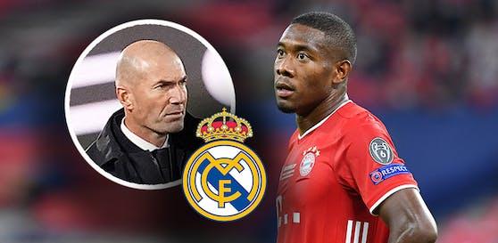 Real-Coach Zidane hält Kontakt zu Alaba.