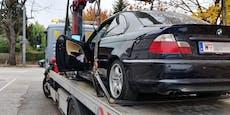 Schule im Lockdown zu, trotzdem wurde BMW abgeschleppt