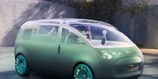 Der Mini Vision Urbanaut zeigt den Van der Zukunft